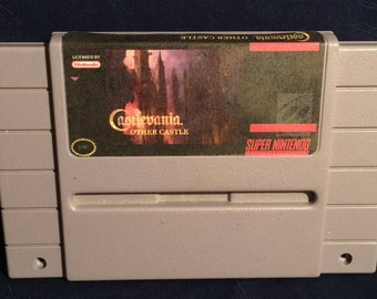 Super Castlevania Other Castle SNES  Game