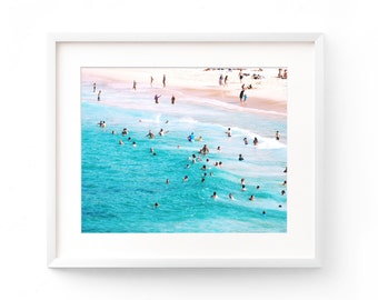 Beach Photography, Ocean Art, Wall Art Print, Beach Coastal Decor, Ocean Wave Print, Surf Art, Beach Print, Beach Landscape, Ocean Water
