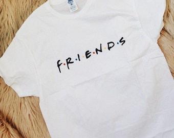 Friends Tv Show Shirt Friends Tv Show Print Friends Shirt Friends Show Friends Tshirt Friends Tv Show Gift Friends Tv Show Tshirt