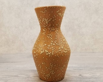 VTG 1960s-70s SCHEURICH KERAMIK Splashes Vase West German Pottery Fat Lava Era Midcentury Modern