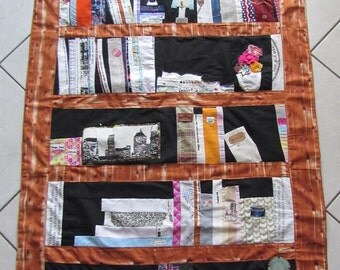 Patchwork-quilt-tapestry-bookcase-Unique
