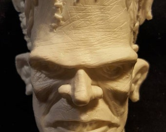 Frankenstein Monster Magnet - Un-painted - FREE DOMESTIC SHIPPING