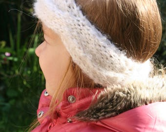 Headband, headband, ear muffs for girl