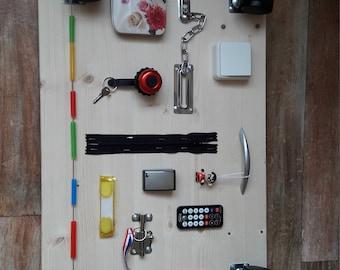 Busy board, Activity board 60×40 cm