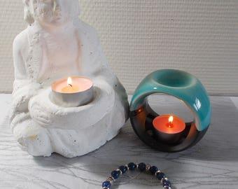 "Bracelet stones natural ""Lapis Lazuli"" (introductory offer)"