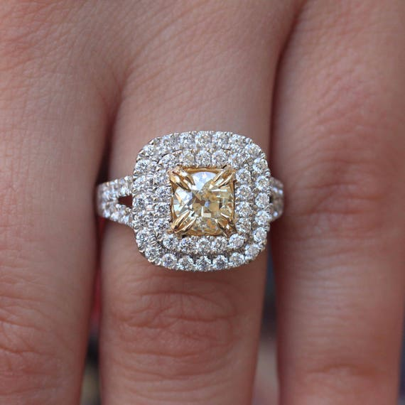 like this item - Yellow Diamond Wedding Rings