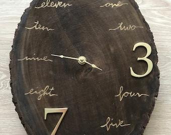 Handmade Custom Clock