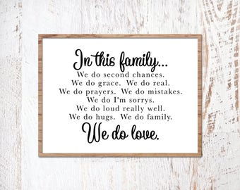 Family Quote SVG, Modern Farmhouse, Farm Cut File, Magnolia Market Sign, Printable, Cuttable, SVG, Vinyl, Sticker, Print, Cut File, Vector