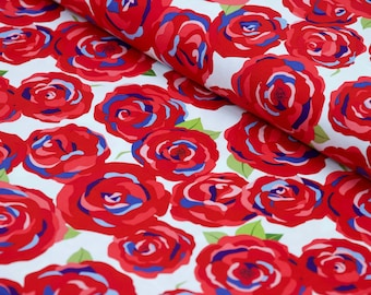 Floral Cotton Fabric, Cotton Fabric By The Yard, 100% Cotton Fabric, Apparel Fabric, Quilting Fabric, Penny Rose Fabric, Floral Quilt Fabric