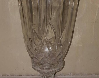 Crystal Hurricane~2 Piece Candle Holder