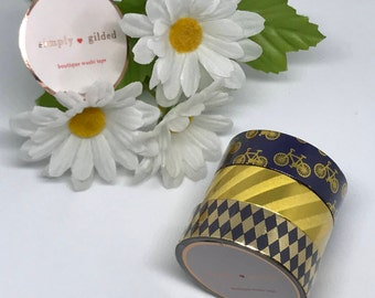 "Simply Gilded Washi, Pretty Pinks, Limited samples, 24"" samples"