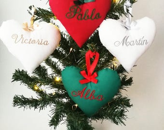 Holiday ornament, Christmas pendant, personalized Christmas ornament