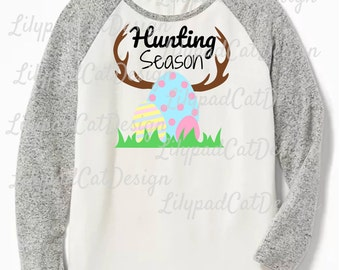 Hunting Season svg, easter svg, bunny svg, easter bunny svg, easter eggs svg, rabbit svg, kids easter shirt, PNG, DXF, easter hunting svg.