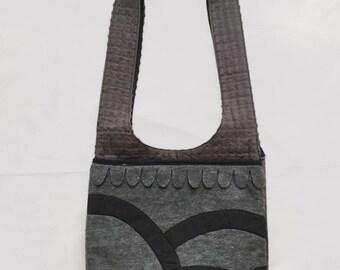 """No. 3 - """"Grey"""" Boho Bag"""