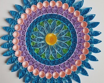 Quilled Paper Art:  «Mandala1»