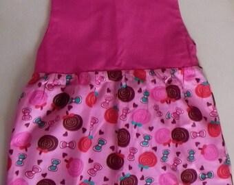 My little pink lollipop dress