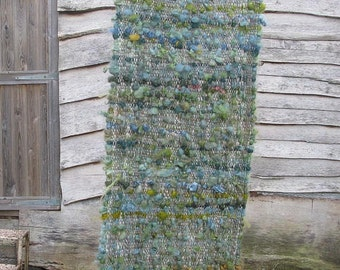 Plant Dyed hand woven shawl