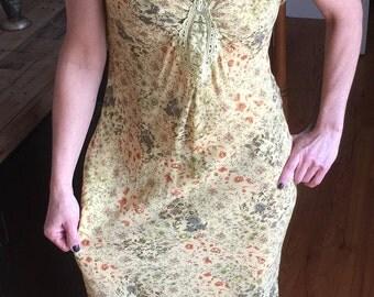 Floral Tristan & Iseut Dress