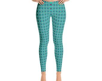 Women's  Grano-Leggings,Beautiful Pattern leggings, full printed, Printful, USA,Made for you, Modern,Trendy Design store,