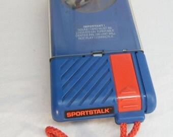 1989 Topps Sports Talk Player