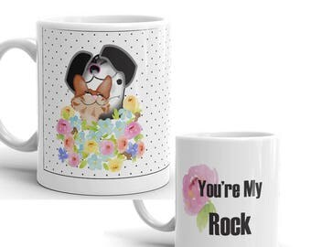 You're My Rock pet mug