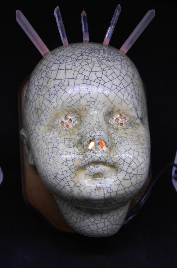 Crystal Crown Baby Head Lamp