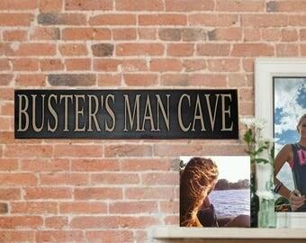 Man Cave Signs Australia : Men cave etsy