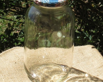 2 Quart Jar with Metal Lid, Quilt-Look, Ball Brand