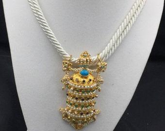 Regal Insignia Necklace