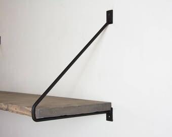 pair of minimalist black shelf brackets newest design minimalist brackets steel shelf brackets