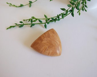 Swedish Birch Wood Brooch // Rustic Brooch // Scandinavian wood pin brooch