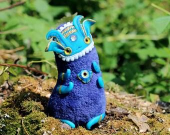 fantasy ooak doll alien art doll ooak toy fantasy creature doll glow toy magic