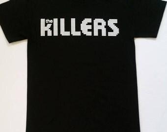 T H E †K I L L E R S† - Black - Unisex T Shirt Sizes S-2XL