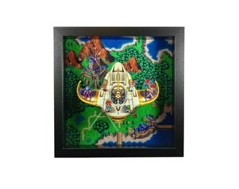 Chrono Trigger (SNES) Epoch Flight Shadow Box