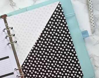 Polka Dot Pocket Folder | Planner Pocket | Pocket Divider | Pocket Dashboard - A5