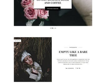 Lavender - Responsive Blogger Template with Boxed Post Layout