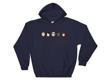 Stranger Things Hoodie - The Upside Down Sweatshirt - Friends Don't Lie - Stranger Things - The Upside Down