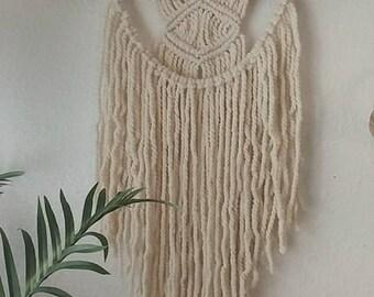 Macrame wall hanging/wall art/boho decor/yarn wall hanging/handmade