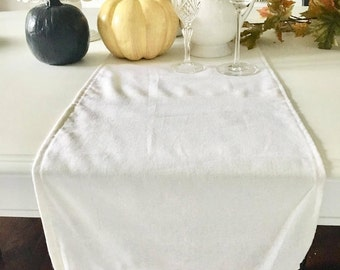 Fall Decor, Ruffled Table Runner, Thanksgiving Decor Available In Different  Fabric And Length,