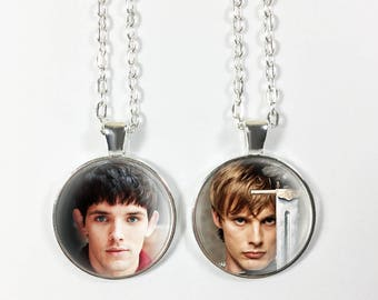 Choose from 15 images! - Merlin Pendant or Keychain