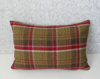 "Traditional Country Tartan Cushions 12"" x 18"" Rectangle"