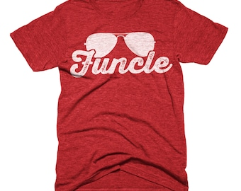 Funcle Shirt Definition T-Shirt, Funcle T-Shirt, Funny Uncle Shirt, Birthday Gift For Uncle Announcement Funcle Fun Uncle Shirt Cooler Uncle