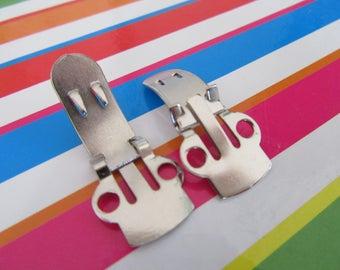 20 pcs Strong Shoe Clips, Shoe Clip Blanks, DIY Bridal Shoe Clips, DIY Shoe Clips, Shoe Button Clips, Shoe Clip Supplies, Best Shoe Clips