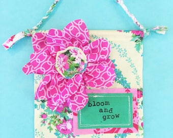 Mini Banner- Bloom and Grow