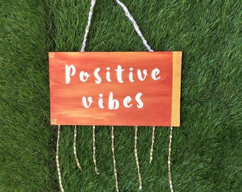 Positive Vibes Wall Art