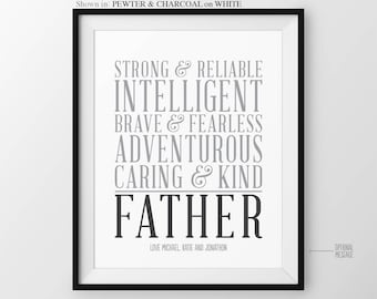 Fathers Day Gift for Father Christmas Gift for Dad Gift for Dad Personalized Gift for Dads Birthday Gift for Father from Kids for Father
