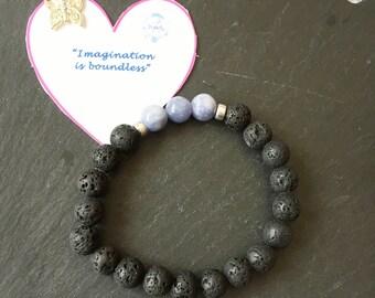 Essential Oil Diffuser Bracelet, Gemstone Bracelet, Chakra Bracelet, Reiki Bracelet, Reiki Jewellery, Lava Stone Bracelet, Aventurine
