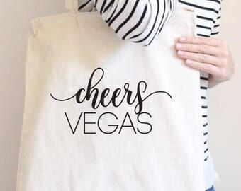 Cheers Vegas, Bachelorette Party, Vegas Bachelorette, bachelorette gift, Vegas Bachelorette party, Vegas tote, Vegas before Vows