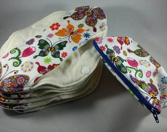 Mom Cloth Set of Eight with Travel Bag