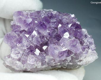 Natural Amethyst Geode Crystal Cluster **FREE SHIPPING**